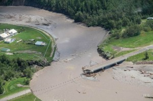 TV Bridge Aerial flood 3