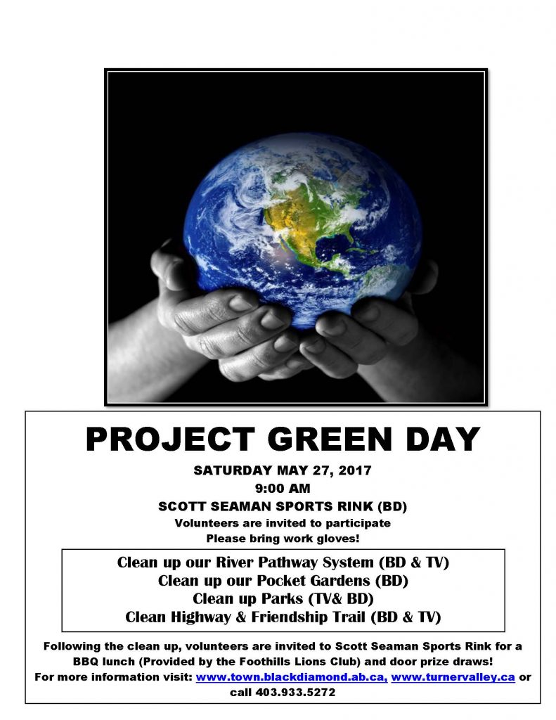 2017 Project Green Day poster