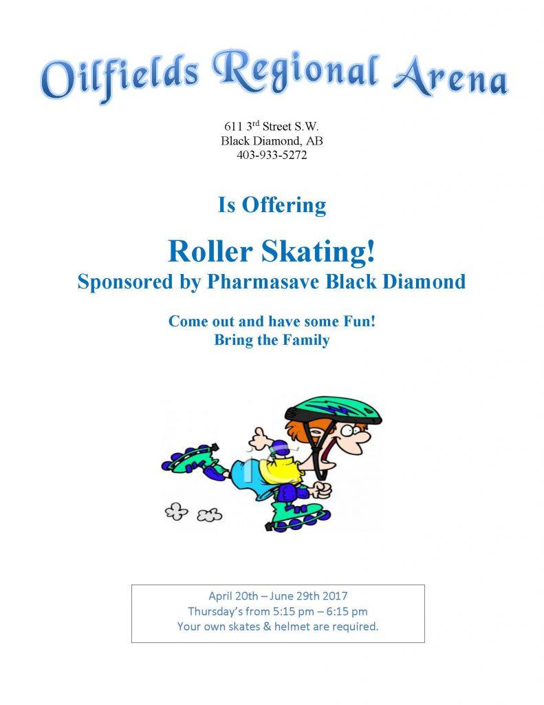 Roller Skating 2017 Poster