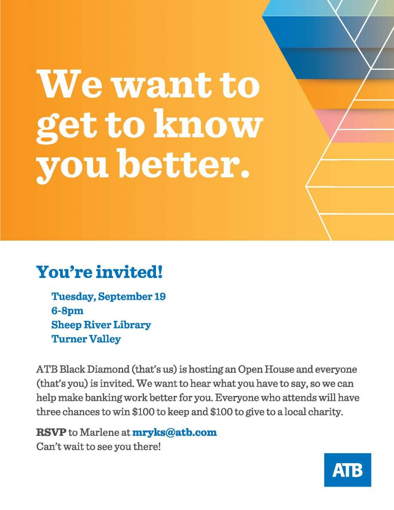 ATB Financial Open House event