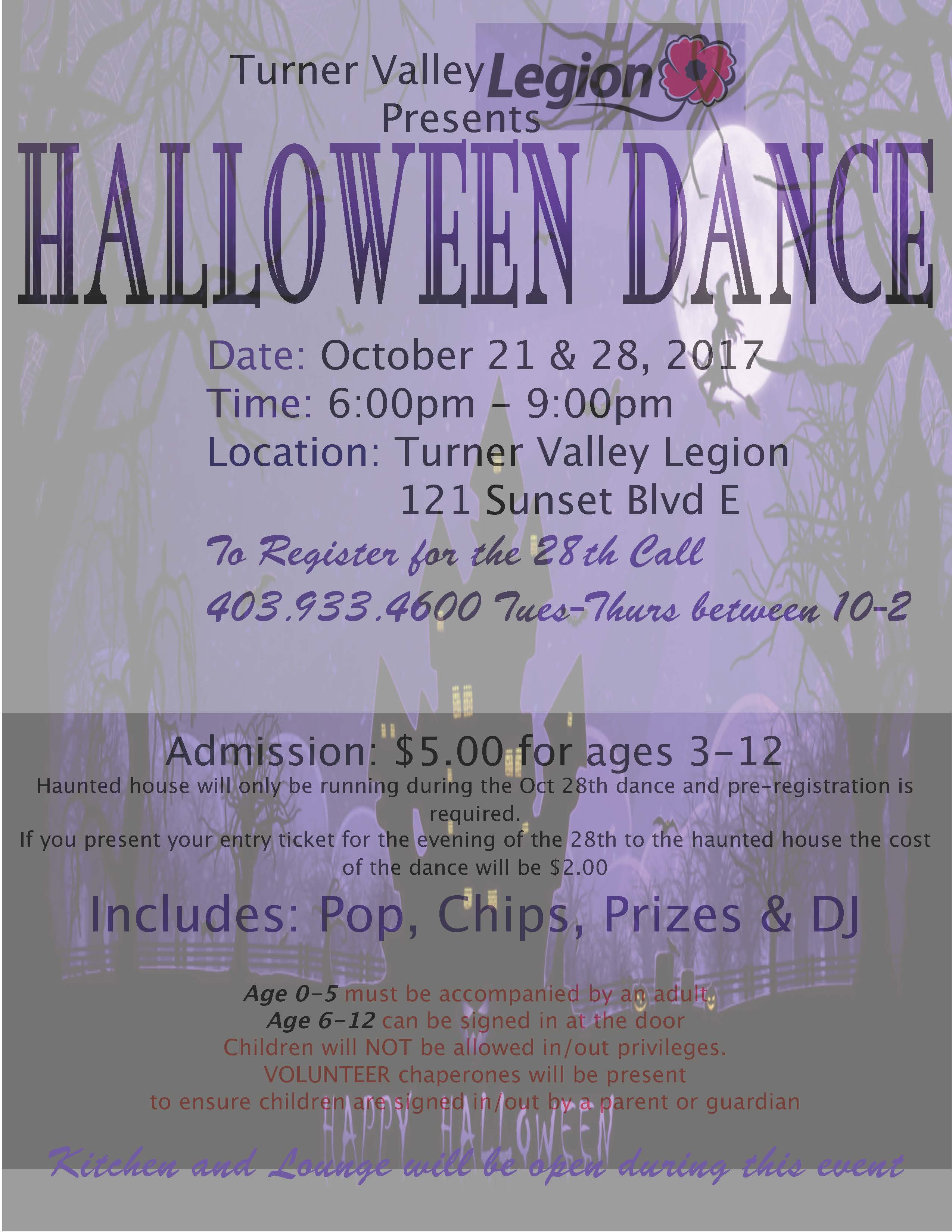 Legion Halloween Poster
